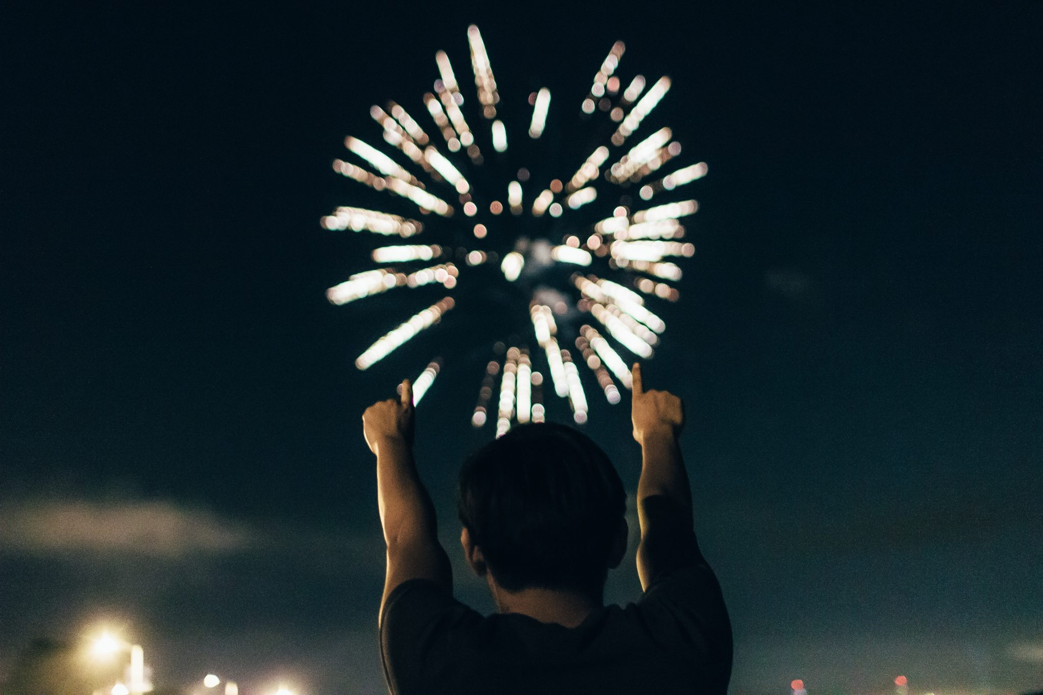 End of 2017 Fireworks