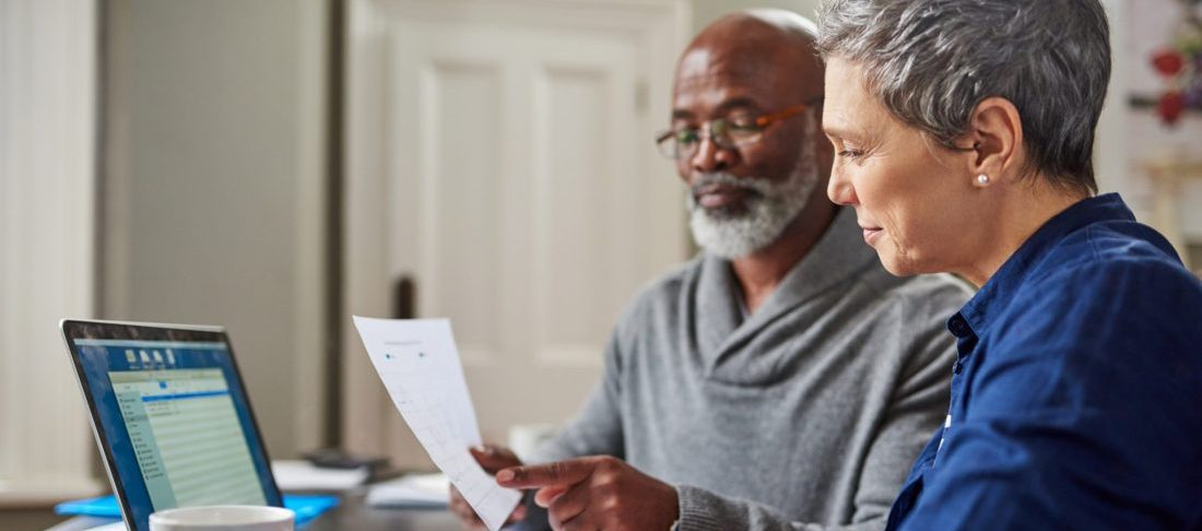 A senior couple discovering how affordable LASIK is