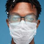 COVID mask fog face