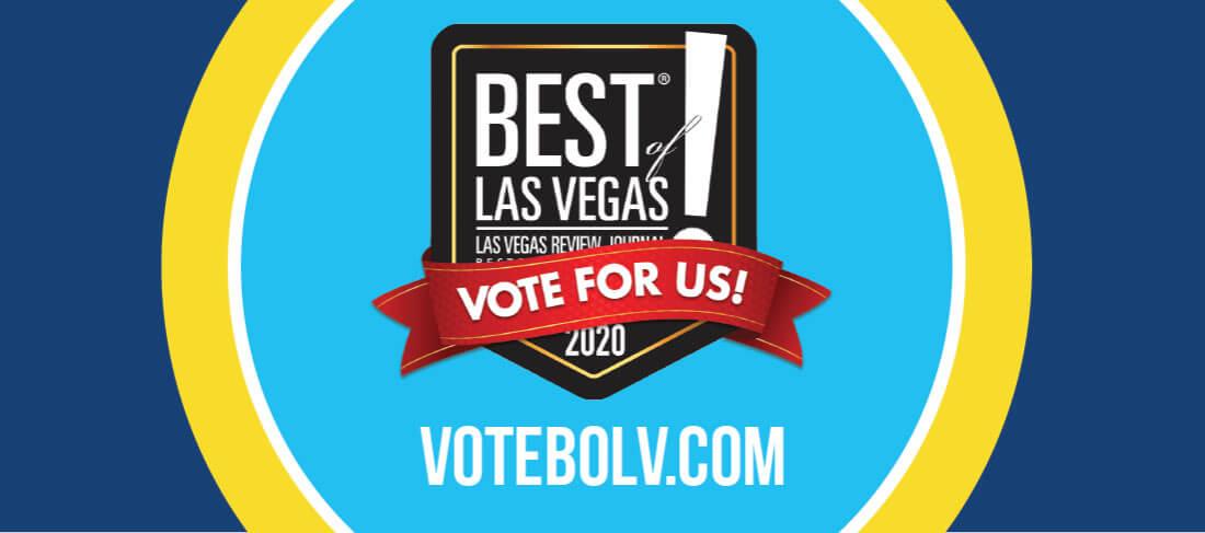 Vote for us - Best of Las Vegas